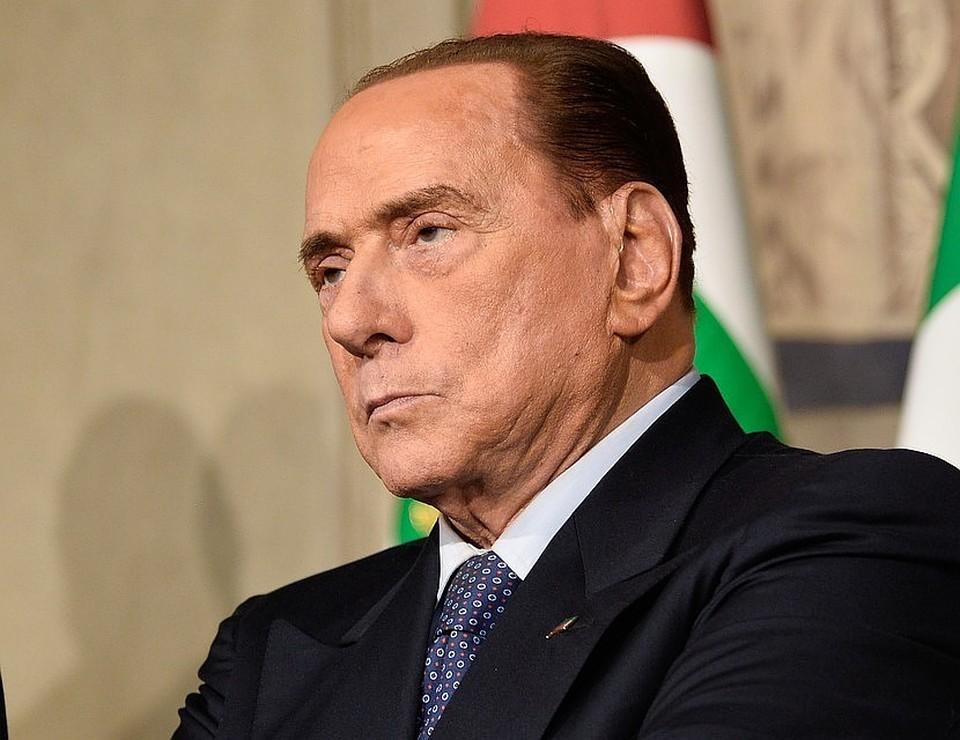 Экс-премьер Италии Сильвио Берлускони