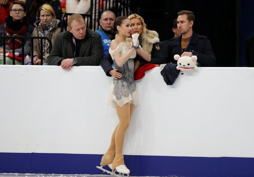 Алина Загитова стала второй на чемпионате Европы 2019