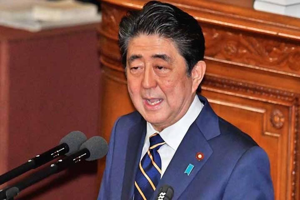 Абэ заявил, что суверенитет Японии распространяется на спорные территории.