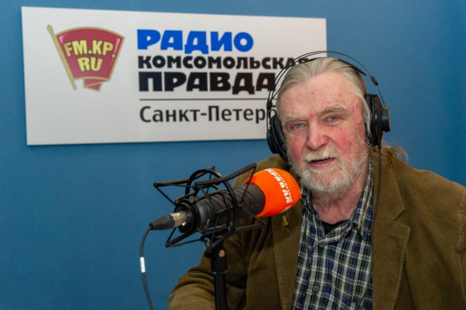 Андрей Тропилло в студии радио «Комсомольская Правда в Петербурге»