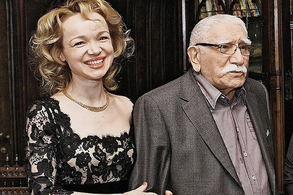 Народный артист России Армен Джигарханян был женат на Виталине Цымбалюк-Романовской Фото: Геннадий КАЛАШНИКОВ