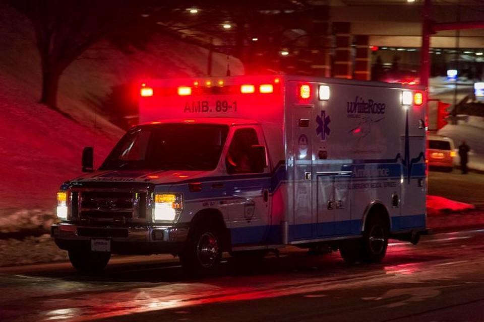 Пострадавших развезли по больницам