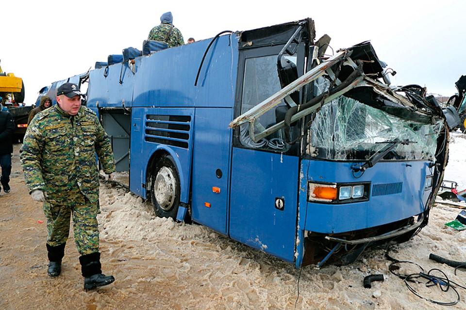 По предварительным данным, помех на дороге не было, водитель просто не справился с управлением. Фото: Антон Забродский/ТАСС