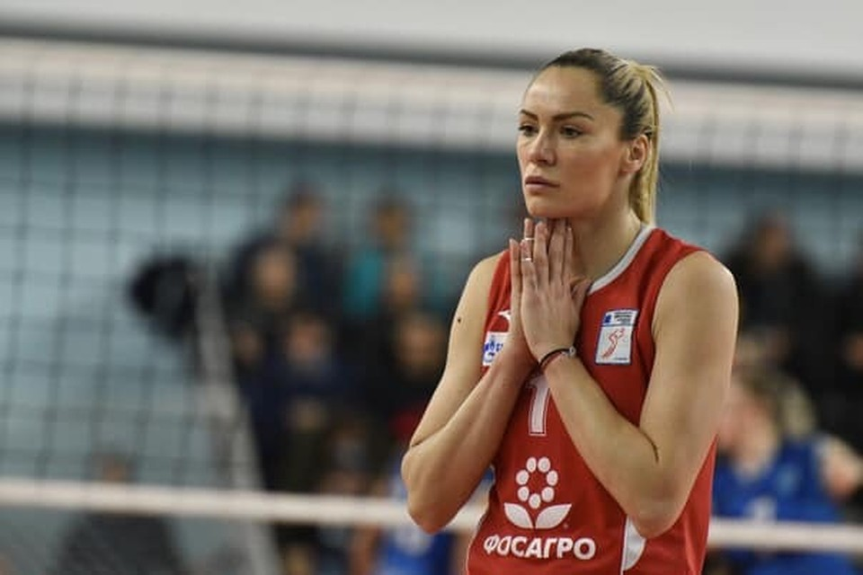 """Сладжана Эрич явно не ожидала такого подвоха от """"Протона-Саратов"""". Фото со страницы спортсменки в Фейсбуке"""
