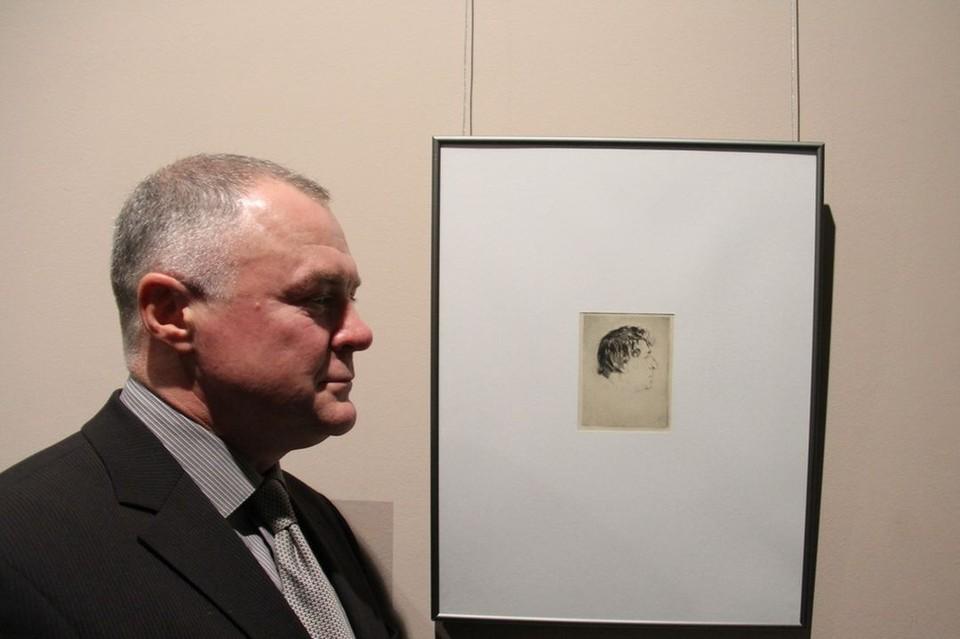 Минский коллекционер подарил Национальному художественному музею портрет Марка Шагала