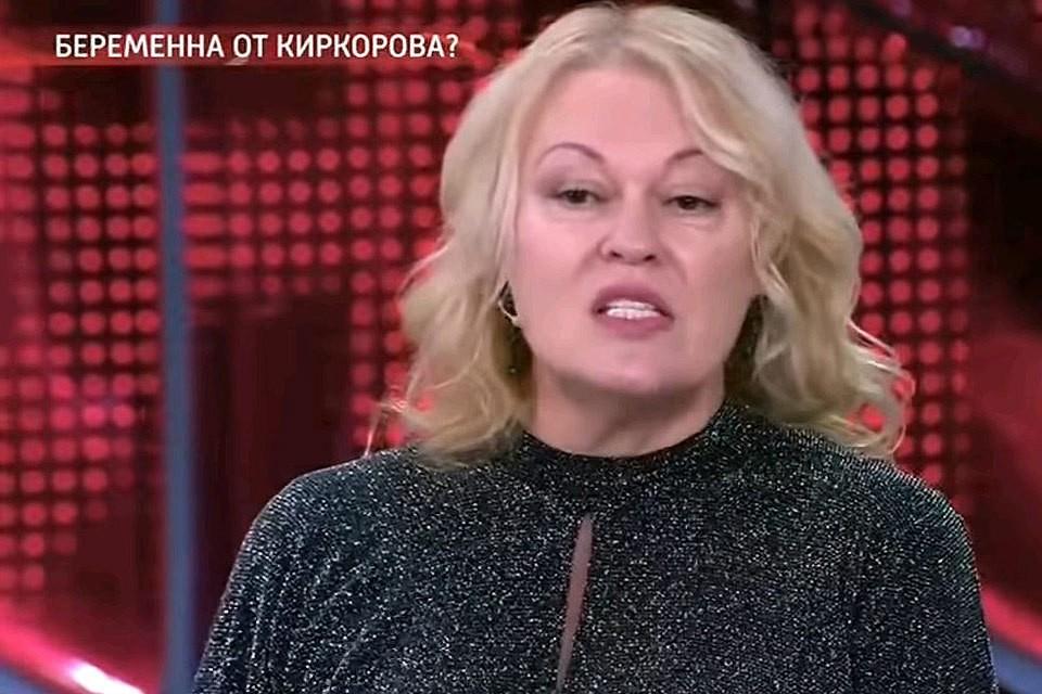 """Светлана Сафиева в передаче """"Прямой эфир""""."""