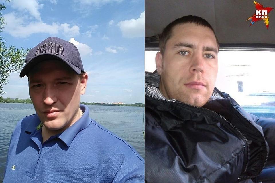 Александр Сычев (на фото слева) оказался на скамье подсудимых по вине своего тезки-одноклассника. Фото: соцсети.