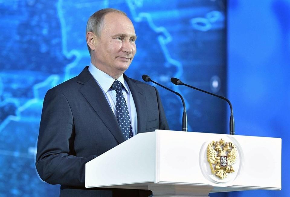 Президент России Владимир Путин . Фото: Алексей Никольский ТАСС