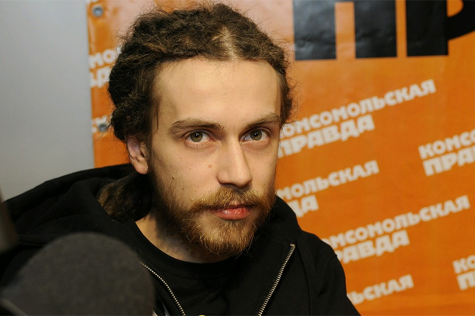 """Кирилл Толмацкий в редакции """"КП"""", 2010 год."""