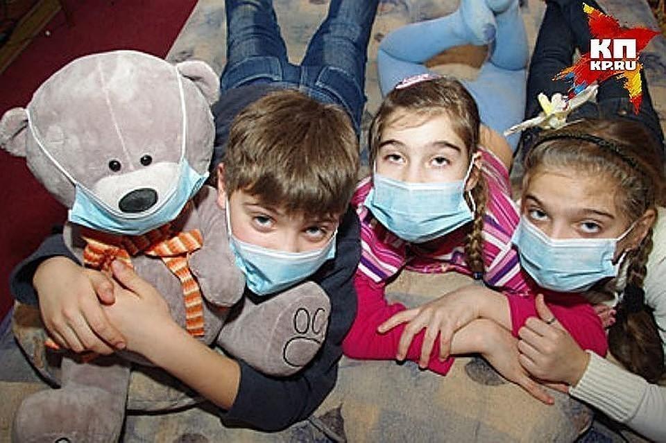 В России школьников из-за гриппа перевели на дистанционное обучение