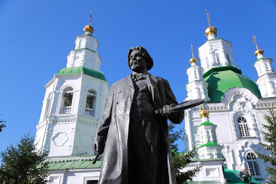 Памятник В. И. Сурикову