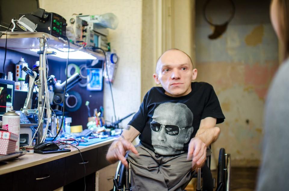 Сергей не переносит слово «инвалид» и не ждет жалости к себе.