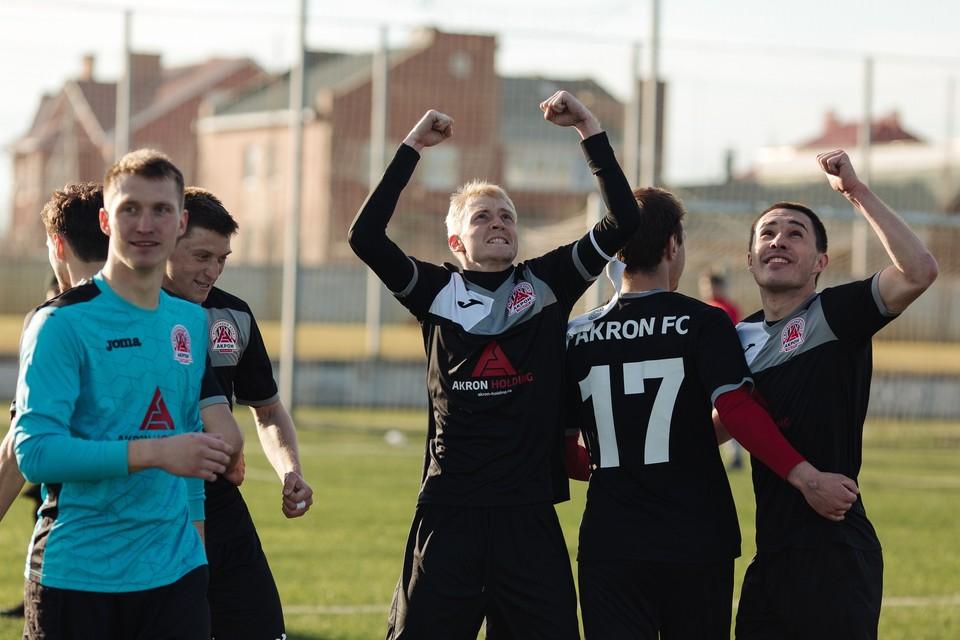 Костяк команды составляют воспитанники тольяттинского футбола. Фото: ФК «Акрон» Тольятти