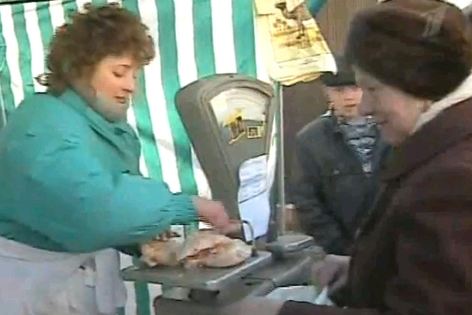 Торговля американскими окорочками в 90-е.