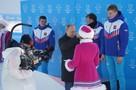 Владимир Путин вручил награды российским лыжникам, победившим в лыжной гонке классическим стилем на Универсиаде-2019