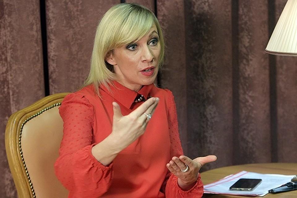 Официальный представитель МИД РФ Мария Захарова дала эксклюзивное интервью «Комсомольской правде»