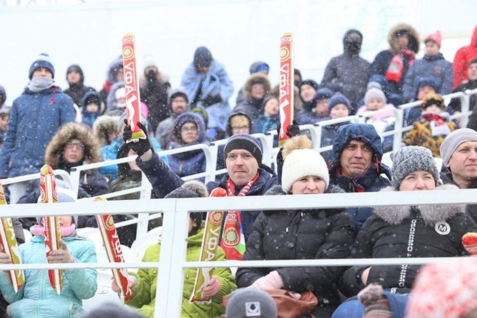 Билеты на матч стоили от 200 до 600 рублей