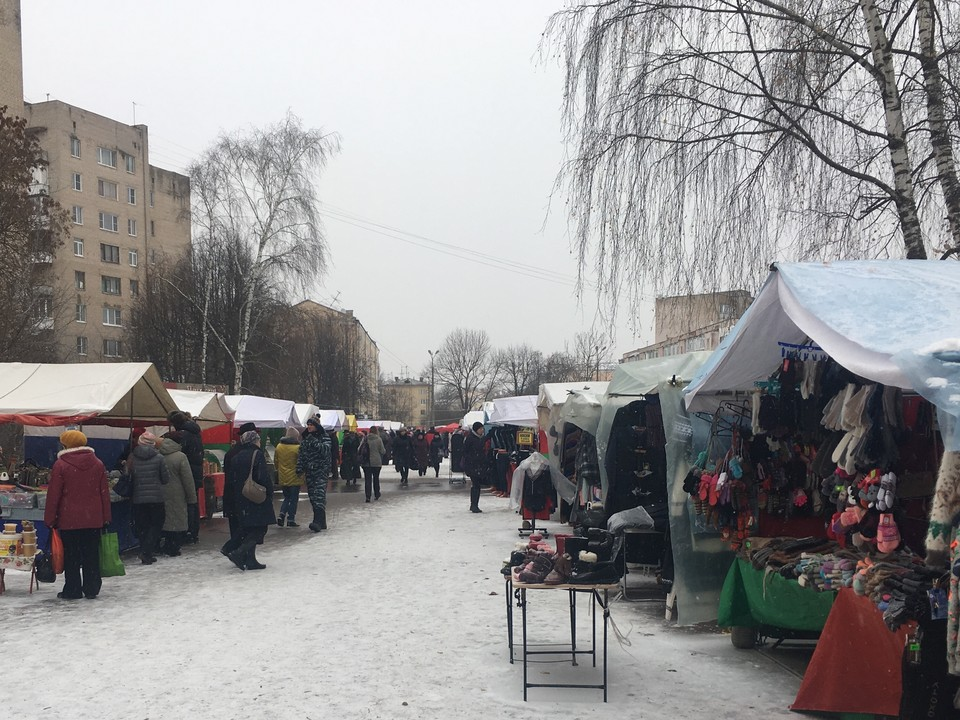 В центре города запретят движение транспорта - здесь пройдут ярмарка и развлекательные мероприятия. ФОТО: Виктория НИКОЛЬСКАЯ.