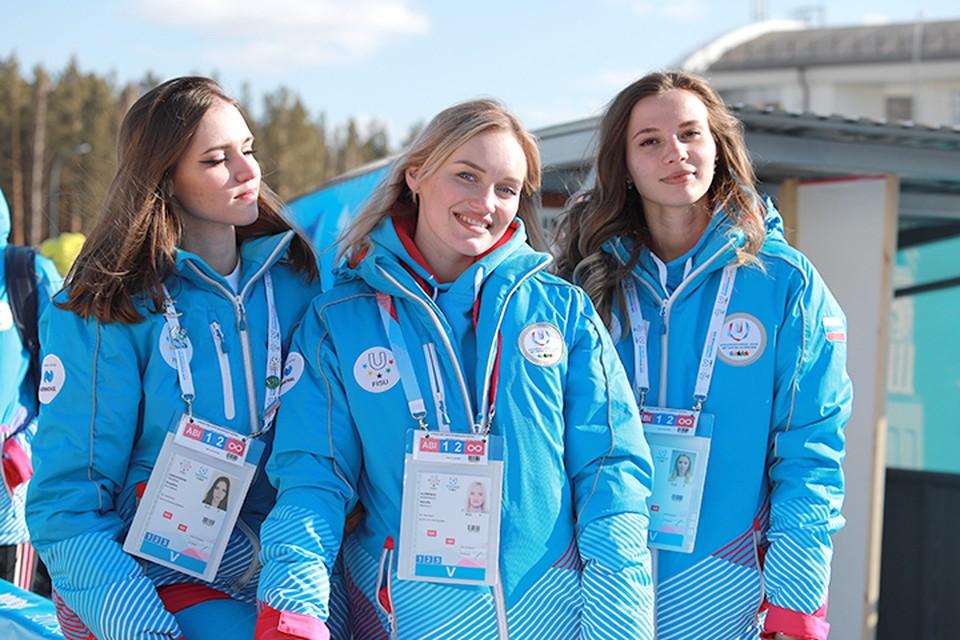 Волонтеры Зимней универсиады-2019