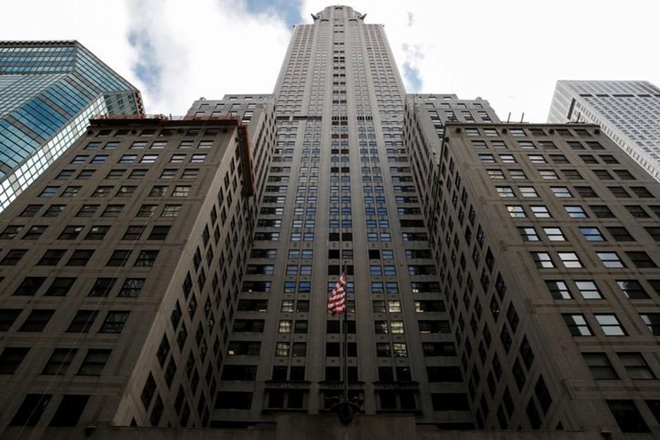 Один из символов Нью-Йорка — знаменитый небоскреб Chrysler Building на Манхэттене