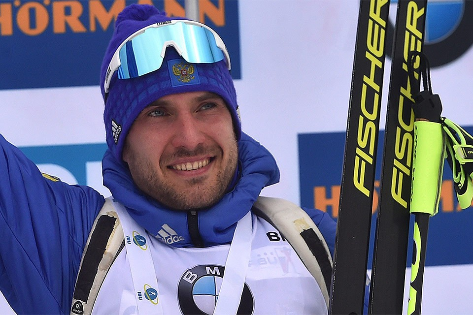 Биатлонист Сергей Гараничев.