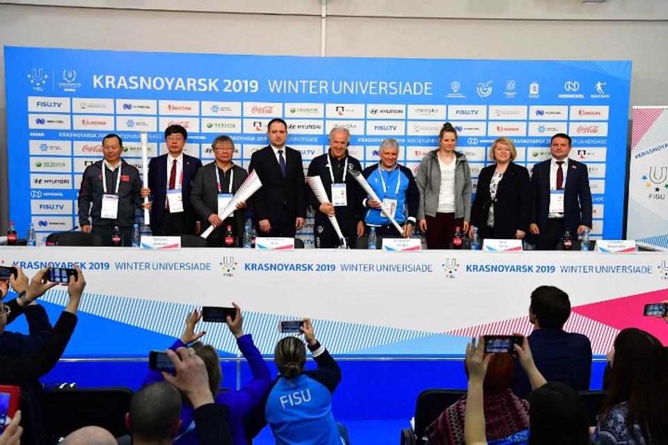 Зимняя универсиада-2019 в Красноярске организована на высоком профессиональном уровне