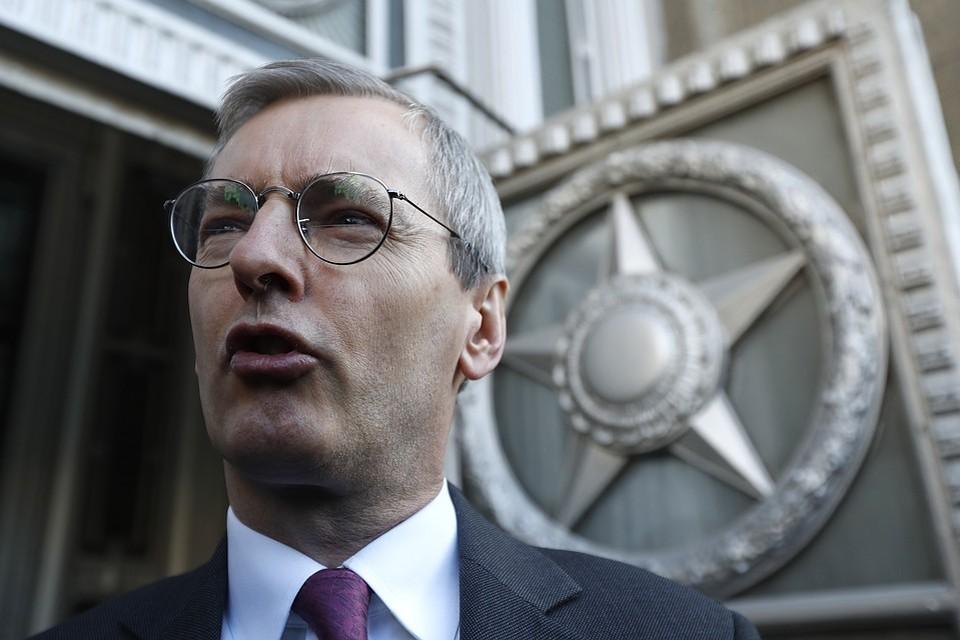 Посол Великобритании в РФ Лори Бристоу. Фото Артем Геодакян/ТАСС