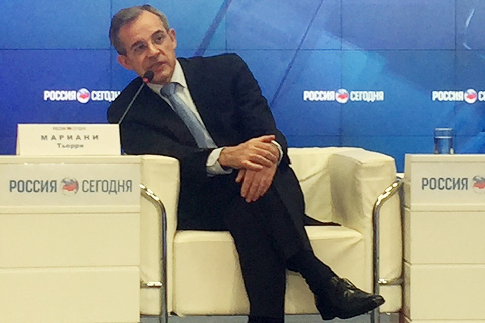 Кандидат в депутаты Европарламента Тьерри Мариани