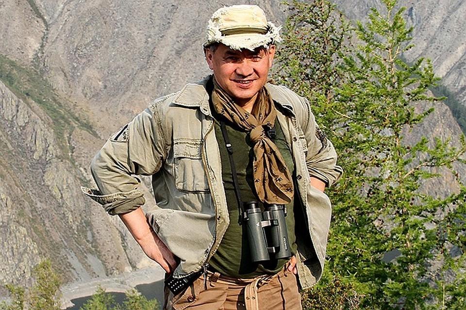 Сергей Шойгу уже 10 лет является президентом Российского географического общества.