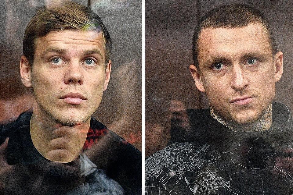 Скандальные футболисты Александр Кокорин и Павел Мамаев