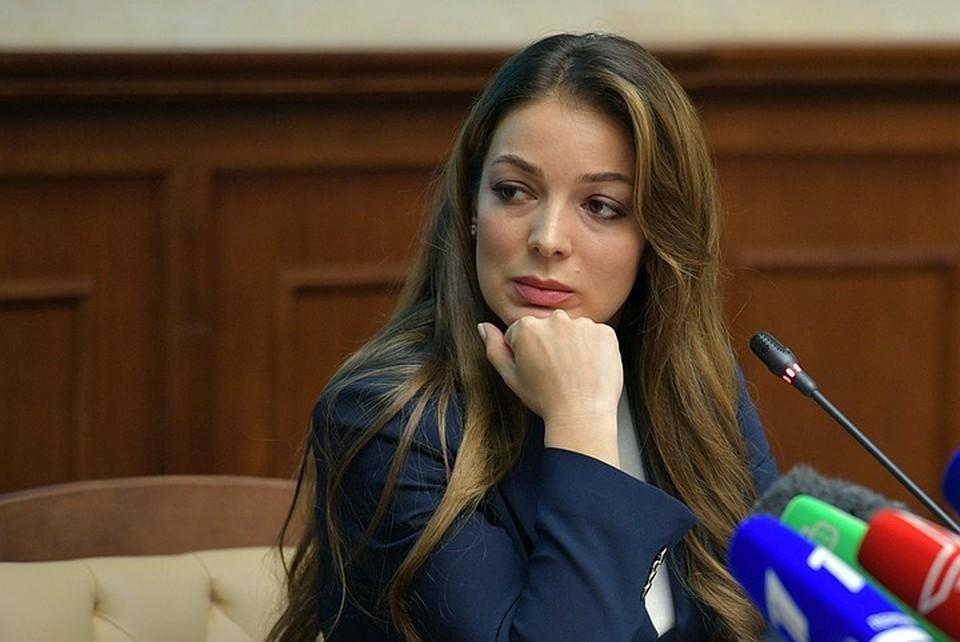 Руководитель Ростуризма Зарина Догузова.