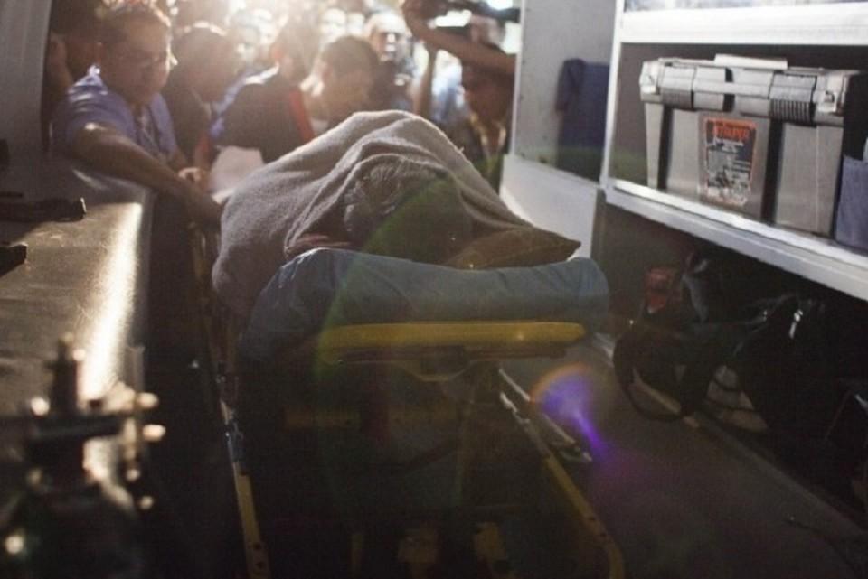 В аварии в Гватемале погибли не менее 30 человек. ФОТО: стоп-кадр с видео
