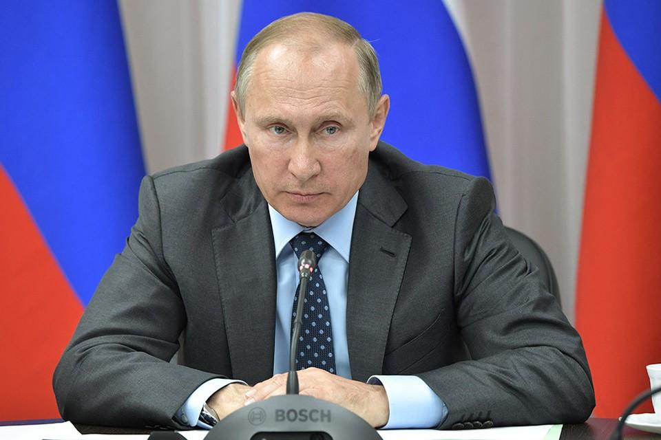 Российский президент Владимир Путин. Фото: Алексей-Никольский-ТАСС