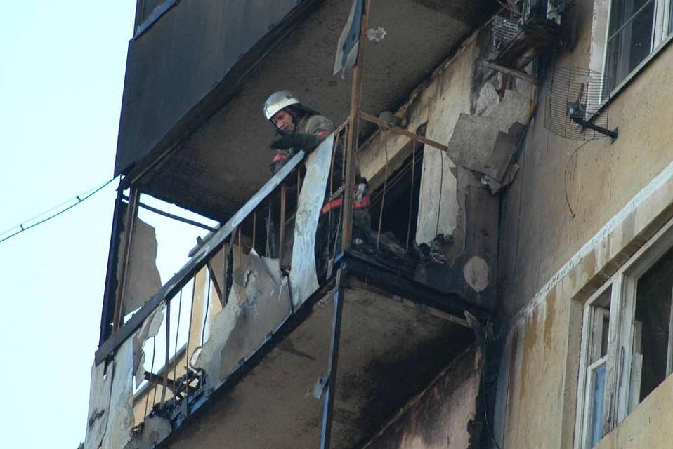 814a68e63aa На юге Волгограда из-за пожара эвакуировали 40 человек