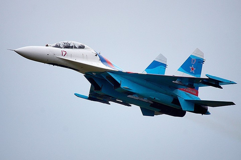 Российские истребители не допустили нарушения российской границы иностранными военными воздушными судами