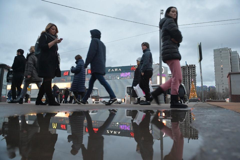 В столице сохраняется переменная облачность