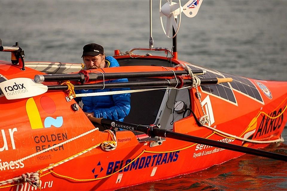 Федор Конюхов уже 120 дней бороздит просторы Южного океана. Фото: konyukhov.ru