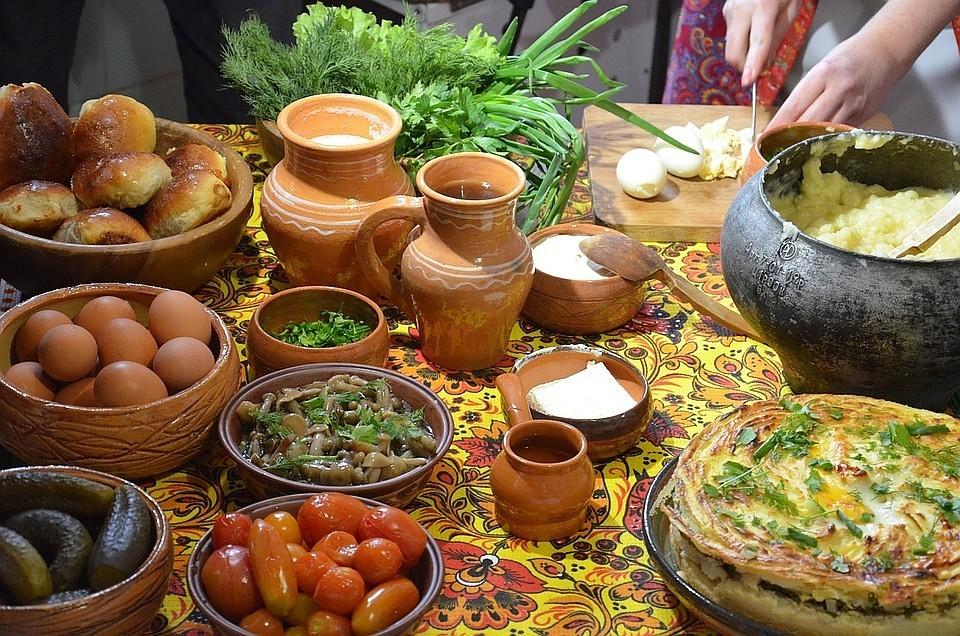 древнерусские блюда картинки поверьям мистической силой
