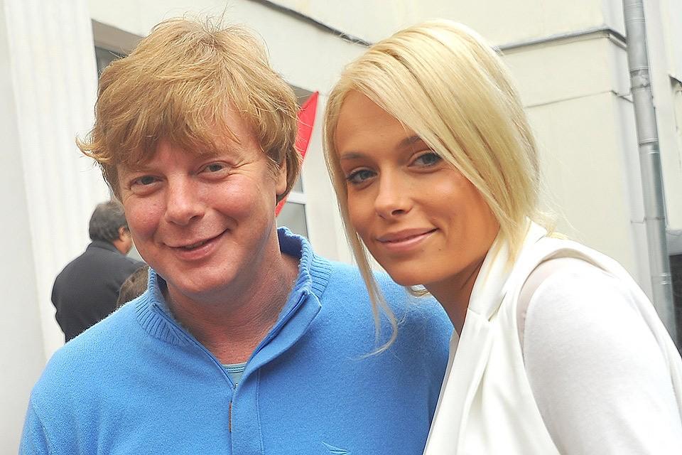 Андрей Григорьев-Аполлонов с супругой Мариной в 2015 году.