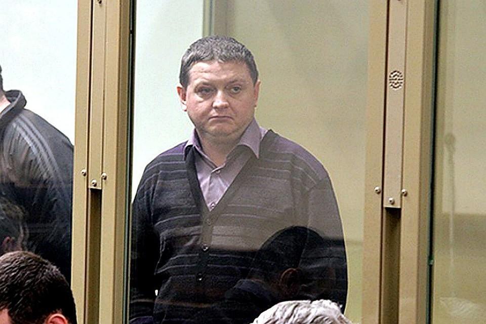 Вячеслав Цеповяз в зале суда