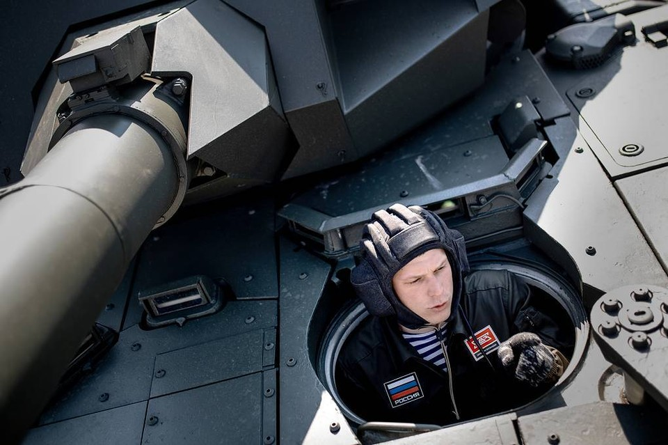 "Танк Т-14 ""Армата"". Фото: Сергей Бобылев/ТАСС"