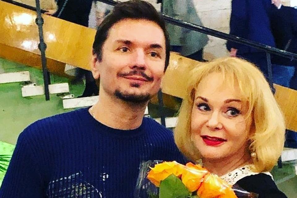 Ирина Цывина и Денис Сердюков.