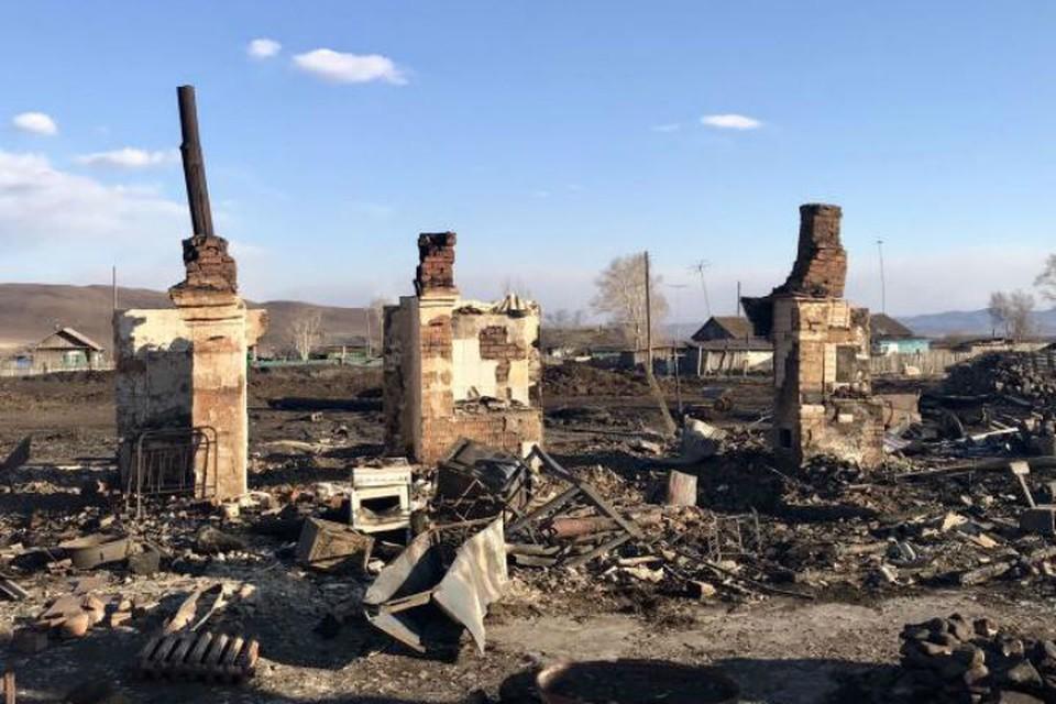 Пожары в Забайкалье: число погорельцев превысило 400 человек. Фото: правительство Забайкальского края.