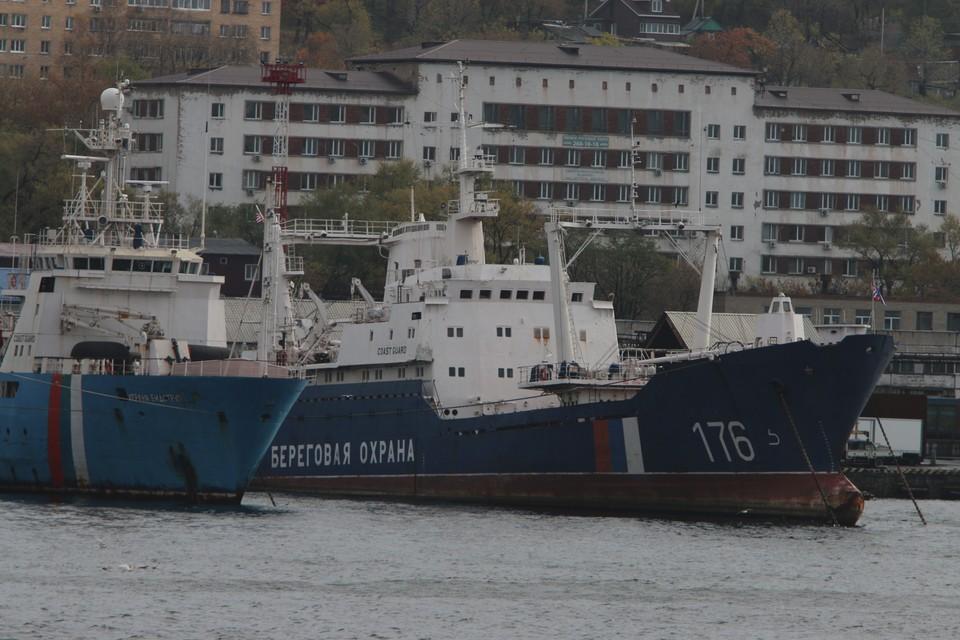 Корабль Тихоокеанского флота Адмирал Трибуц