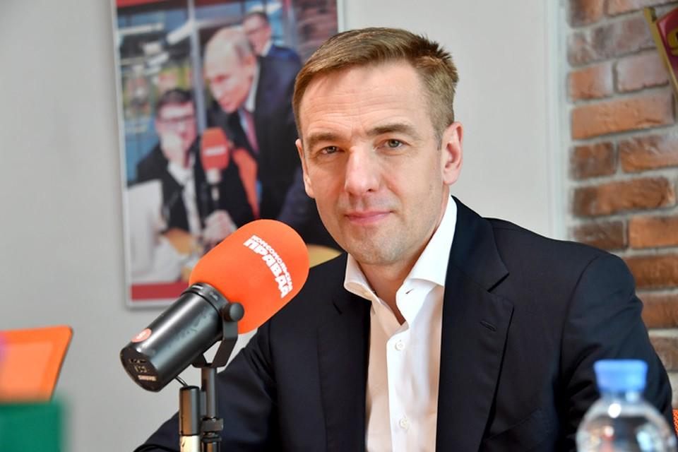 Заместитель министра промышленности и торговли РФ Виктор Евтухов в гостях у Радио «Комсомольская правда»