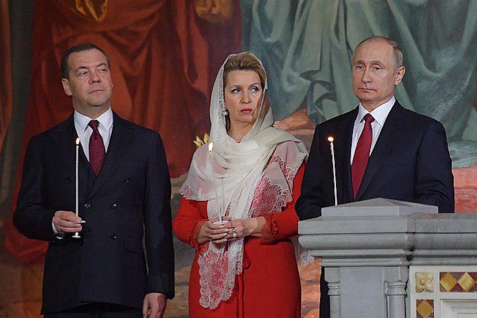 Президент России Владимир Путин поздравил православных христиан и всех граждан России с праздником Светлого Христова Воскресения