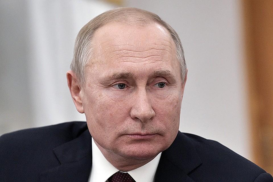 Владимир Путин / Фото: Алексей Никольский ТАСС