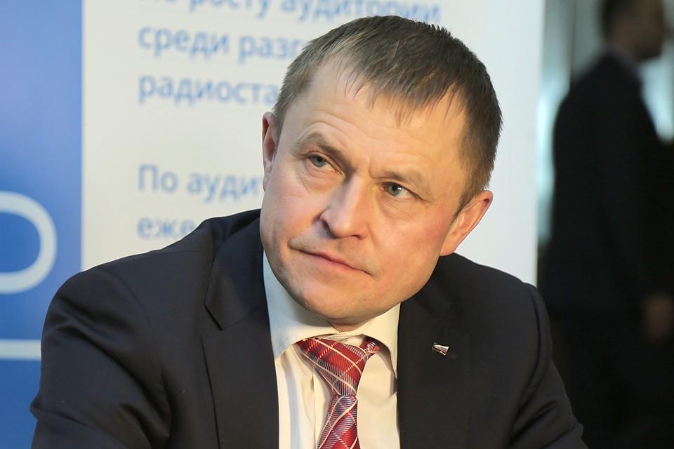 Президент Общероссийской общественной организации малого и среднего предпринимательства «Опора России» Александр Калинин.