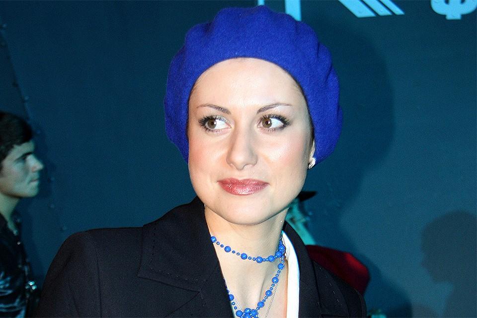 Актриса Анна Ковальчук.