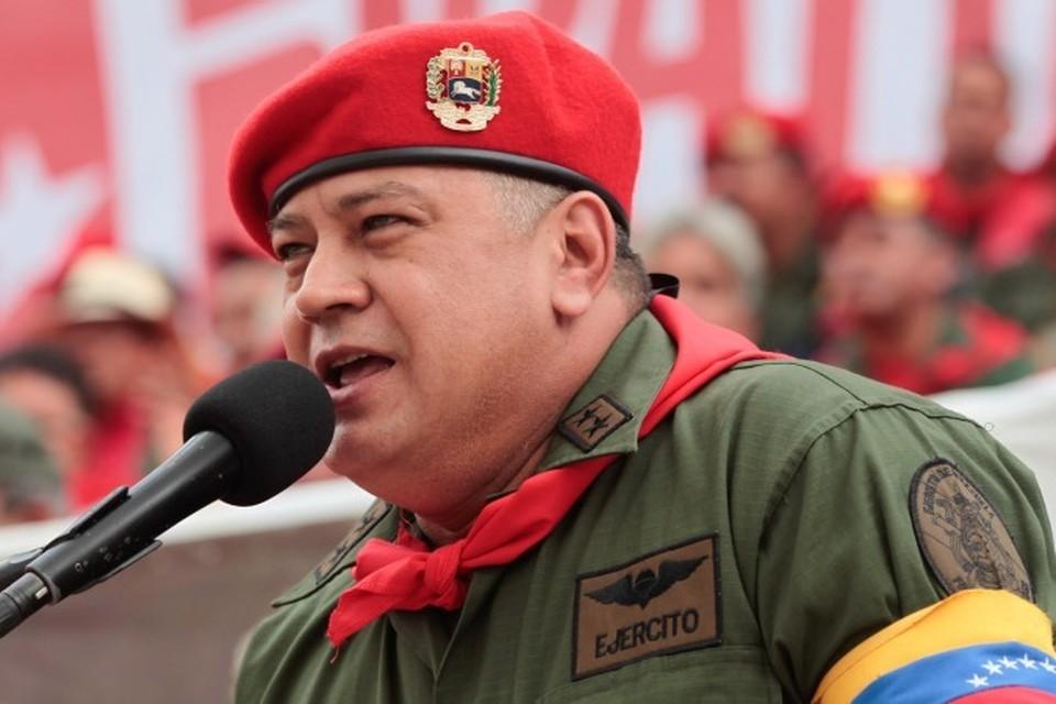 Глава Конституционной Ассамблеи Венесуэлы Дьосдадо Кабельо